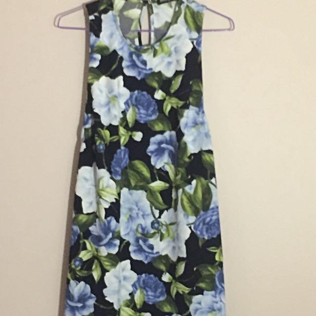 American Apparel Floral Dress