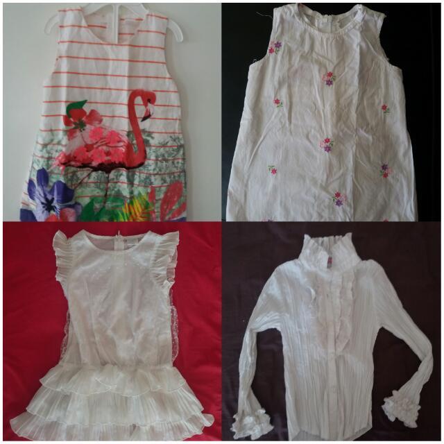 Baju / Dress / Atasan Anak Cewek 18bln-3thn