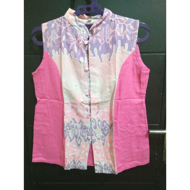 Batik Pink Top