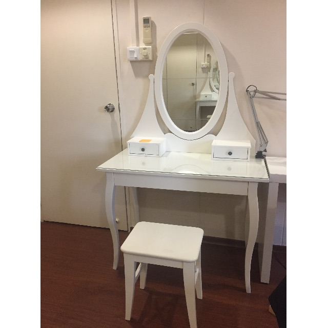 Ikea Hemnes Dressing Table With Stool Furniture Tables Chairs On Carou