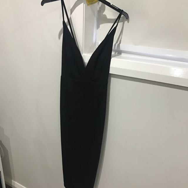 Black Mura Dress
