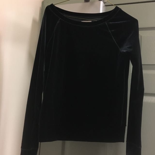Black Velvet Aerie Shirt