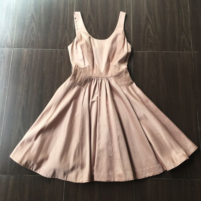 Bn Forevernew Dress Dusty Pink Dress