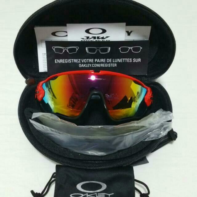 42a66e2dcf7 BNIB Oakley Jawbreaker Sunglasses