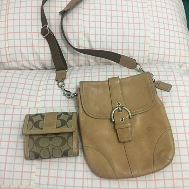 Bundle Sale! COACH Sling And Wallet