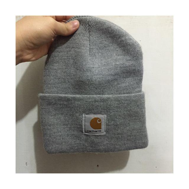 含運🎈Cahartt 灰毛帽