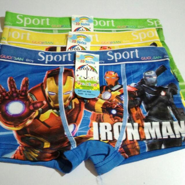 Celana Boxer Anak/CD/cowok