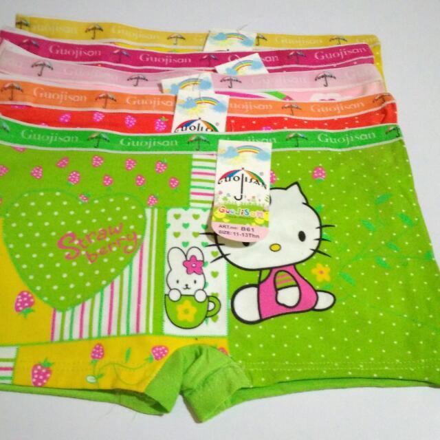 Celana Boxer Anak/Daleman/CD Cewek