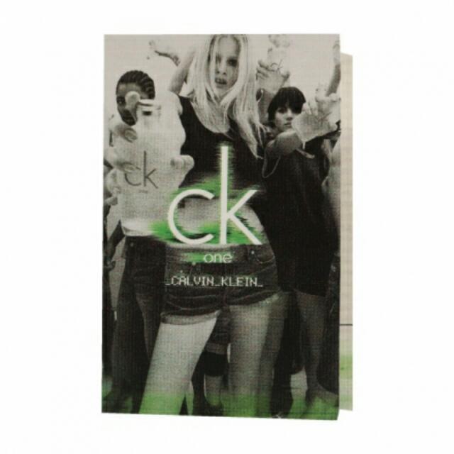 CK ONE 中性淡香水 1.2ml