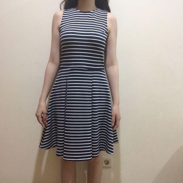 COLORBOX Striped Dress