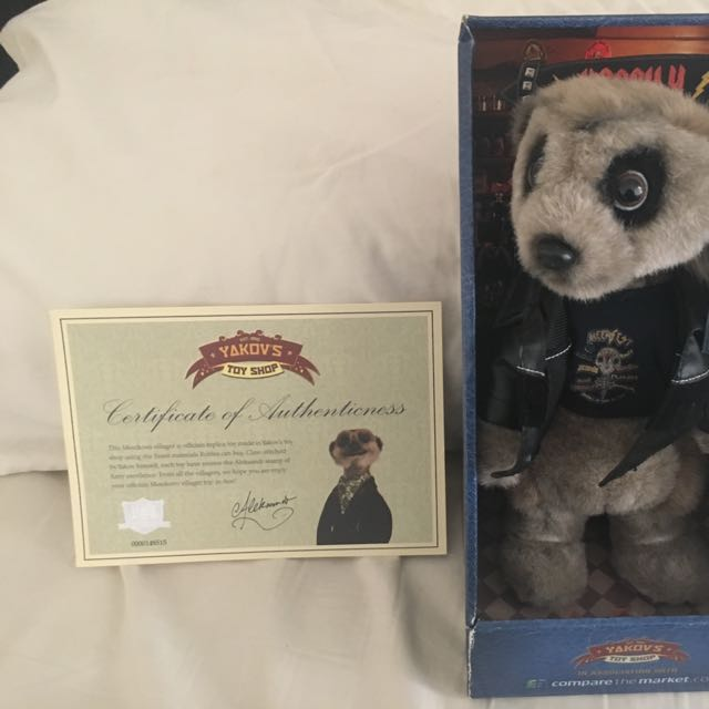 Compare The Market- Meerkat- Vassily -1st Edition