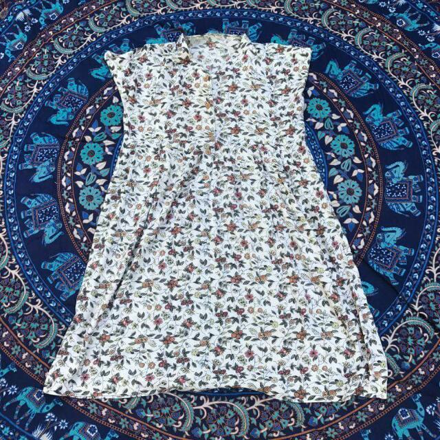 Earthy Vintage Dress
