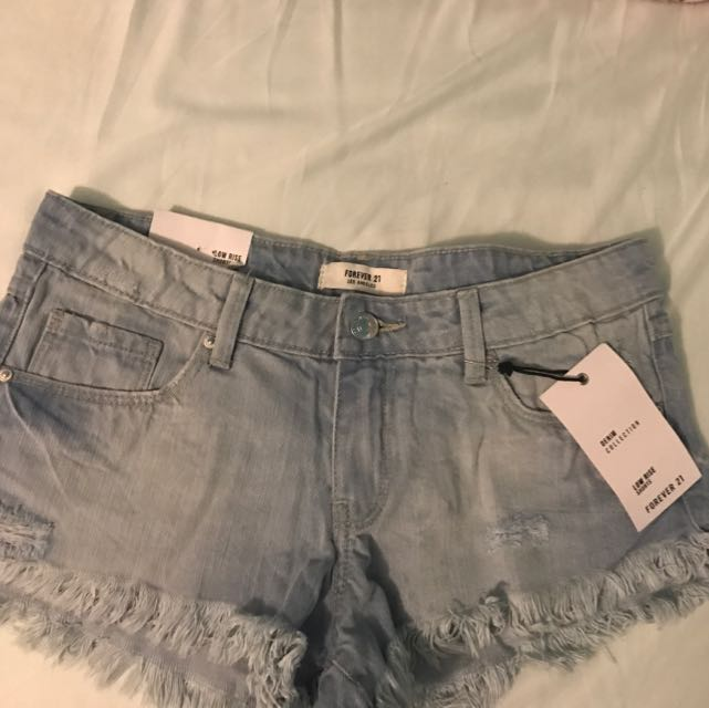 F21 Shorts Low Rise 25