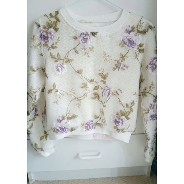 Floral Long Sleeves Blouse