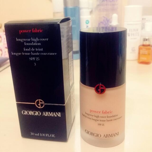 ARMANI 完美絲絨水慕斯粉底液(降價賣到4/2)