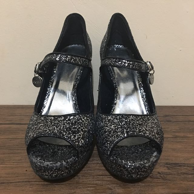 -GOSH- Marry Jane Glitter Shoes