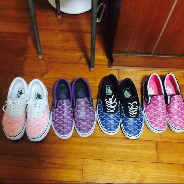 Goyard Vans 客製鞋