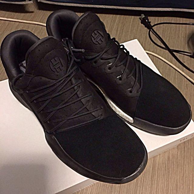 Harden Vol.1 黑色籃球鞋 (PG1可交流)