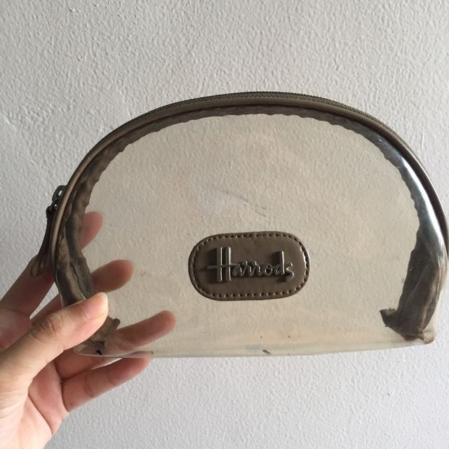 Harrods Clear Pouch