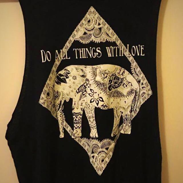 HIPPY BOHO ELEPHANT TOP