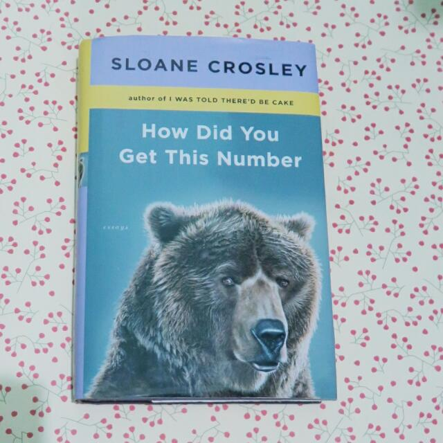 How Did You Get This Number - Book