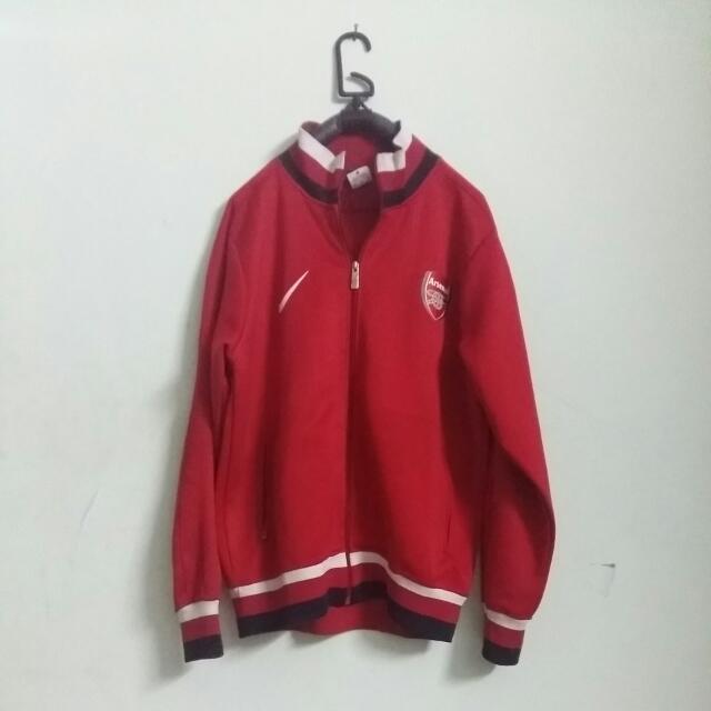 Jaket Arsenal Merah Size M
