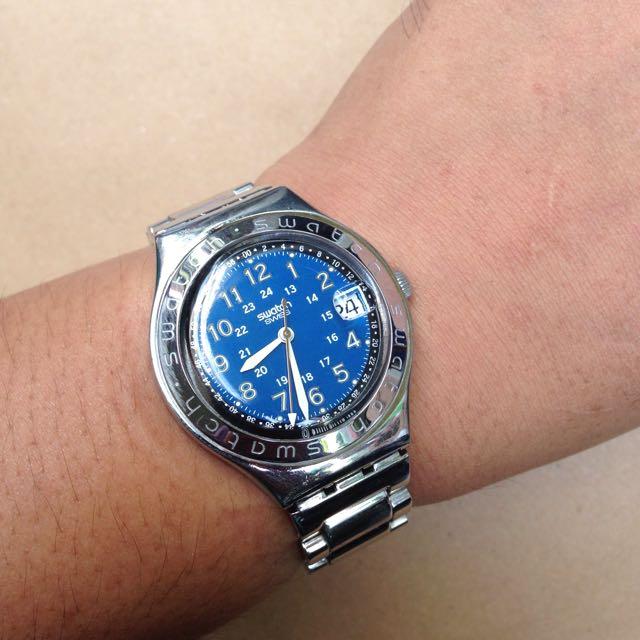 Jam Tangan Swatch Irony Big Original 100%