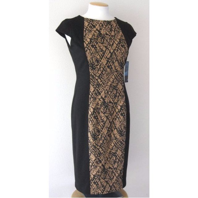 Jones New York Cap Sleeve Knit Dress - Size 6 - 52% Off!