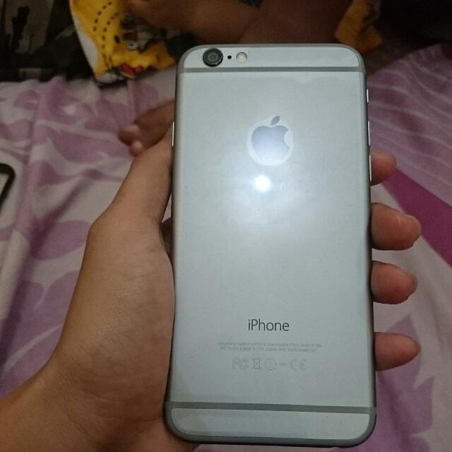 Re Price!!! Jual Iphone 6 Space Grey 16GB