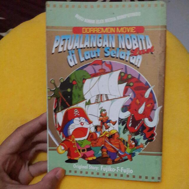 "Komik Doraemon ""Petualangan Nobita di Laut Selatan -last"""