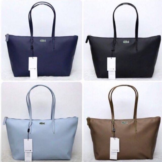 Lacoste Tote Bag (available Until Supply Last)