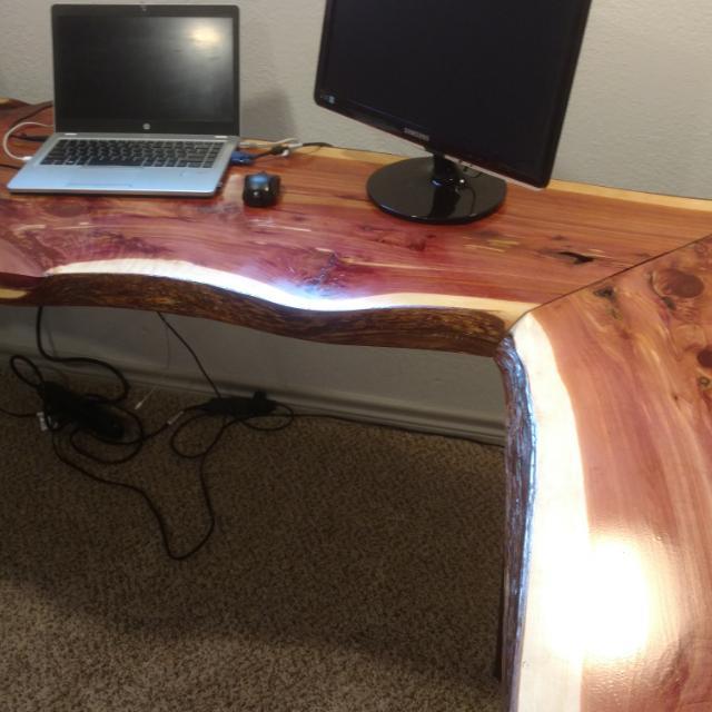 Live Edge Desks