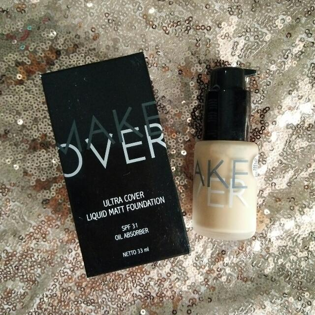 Make Over Liquid Foundation