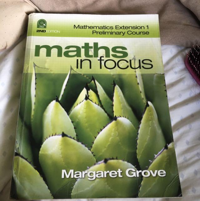 Mathematics Extension 1 Preliminary Course