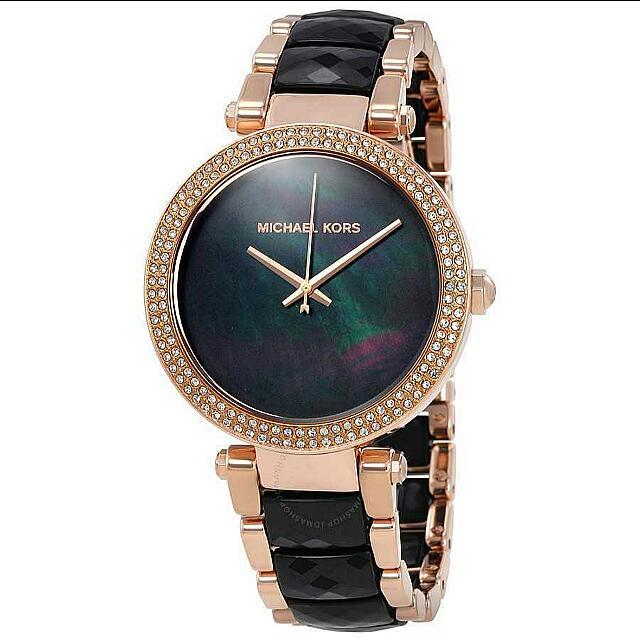Michael Kors  簡約晶鑽腕錶  100%美國正品 MK6414