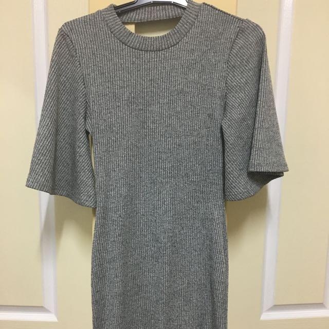 Midi Grey Dress