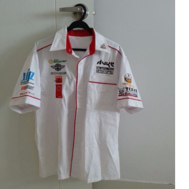 Motor Racing Pit Collar Shirt from DUKE big boy toy