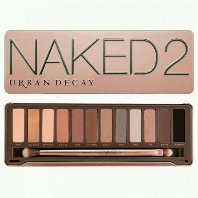naked2 eyeshadow pallete