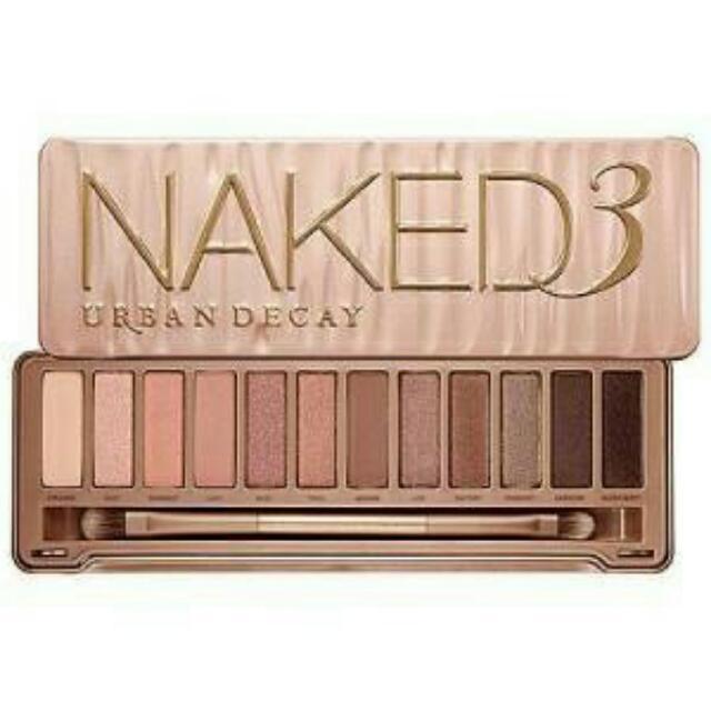 naked3 eyeshadow pallete