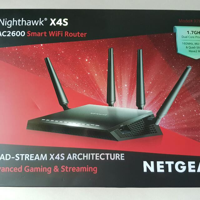 Netgear Nighthawk X4S AC2600 Smart Wifi Router R7800
