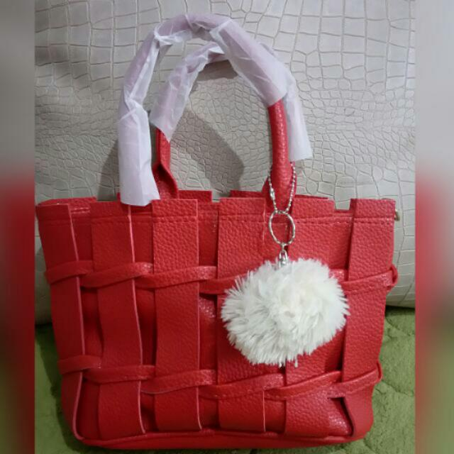 New Bag With Pompom