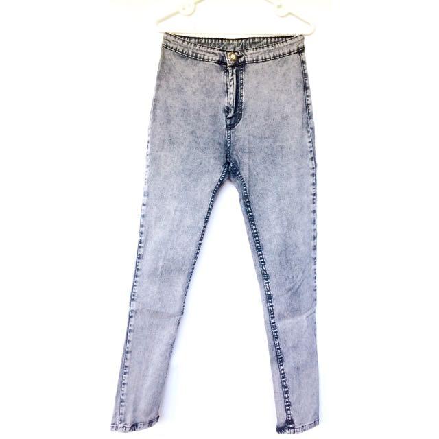 [NO BRAND] Highwaist Jeans