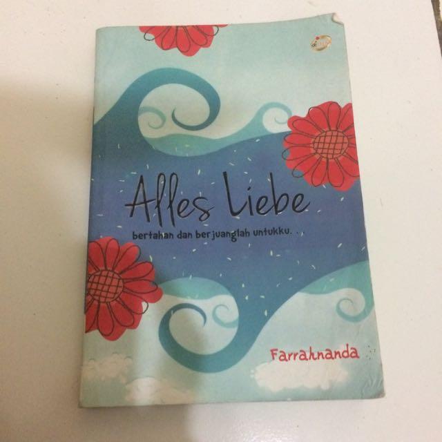 Novel Alles Liebe