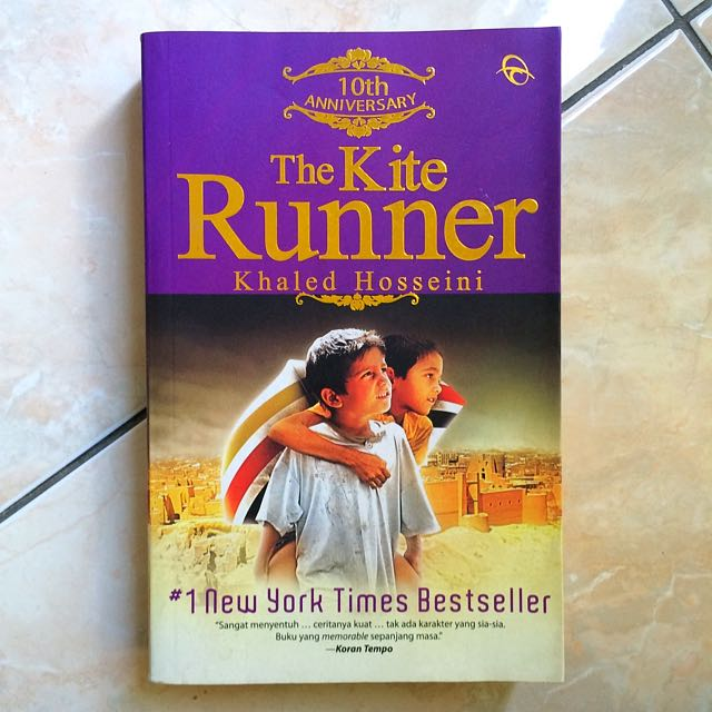 "(Novel) ""The Kite Runner"""