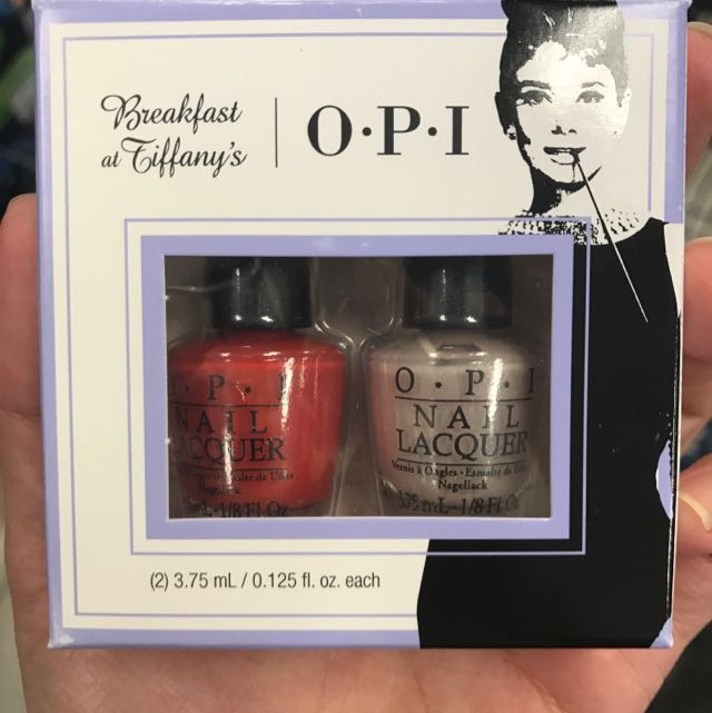 OPI Breakfast at Tiffany's Set