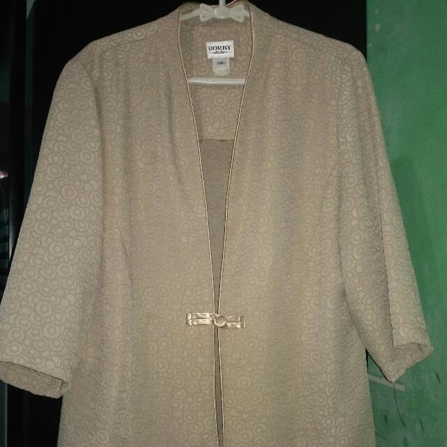 Outer Cardigan Cream #diskonkaget