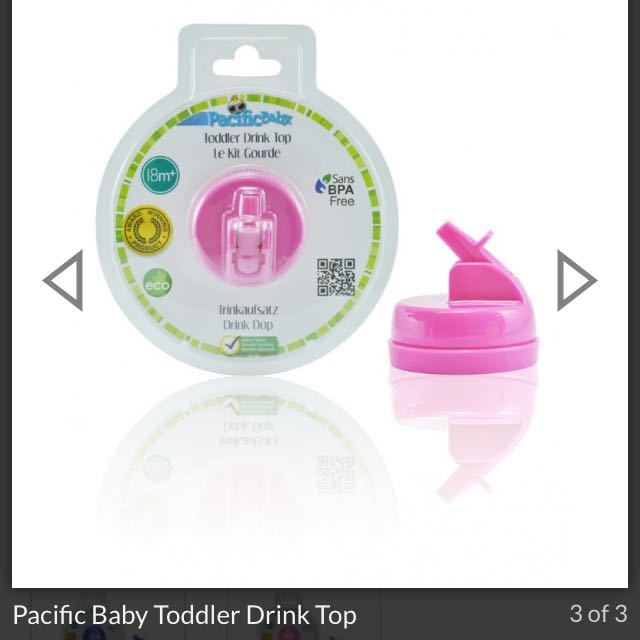 Pink Pacific Baby Toddler Drink Top