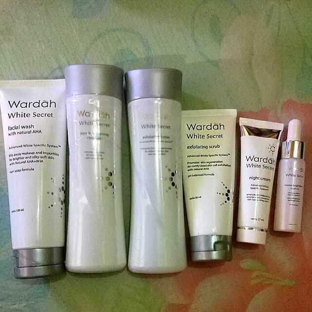 Paket Wardah White Secret Series
