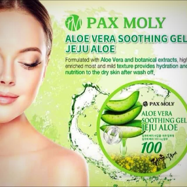 Pax Moly Aloe Vera Soothing Gel 300ml