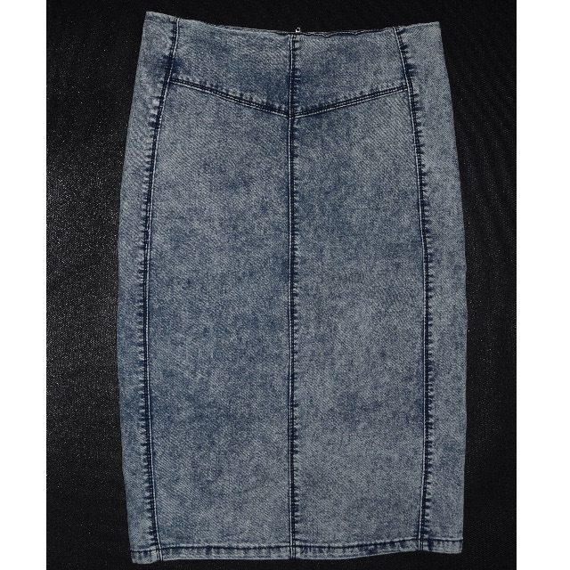Pencil Denim Skirt